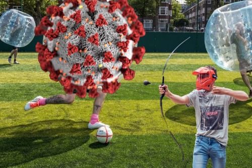 Archerytag en Bubbelvoetbal